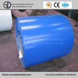 Bobine en acier de PPGI, bobine galvanisée à chaud de PPGI, matériau de construction