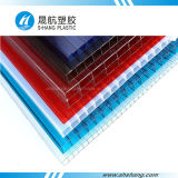 ZonneBladen van het Polycarbonaat van 100% de Maagdelijke Materiële met UVBescherming