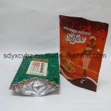 Levantarse la bolsa de plástico Ziplock para el alimento de bocado/el té/los frutos secos