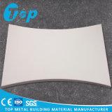 Único painel de alumínio irregular para a decoração do revestimento da parede de cortina