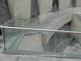 Balustrade de balustrade d'acier inoxydable de matériau de construction