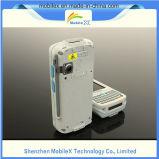 バーコードのスキャンナー、UHF RFIDのピストルの握り、受け台との無線PDA