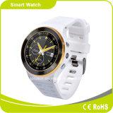 3Gアンドロイド5.1 OS WiFi Bluetooth SIMのカードGSMの歩数計の心拍数のスマートな腕時計