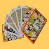 El póker plástico de encargo de las tarjetas que juegan con crea para requisitos particulares