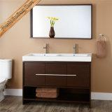 Hochwertige doppelte Wannen-moderne Badezimmer-Schränke 48 Inch-Fed-1259