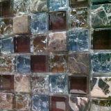 Mosaïque en verre de mélange en pierre (VMS8136)