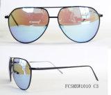 Óculos de sol novos do metal do revestimento do piloto da chegada