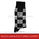 Calcetines ocasionales del telar jacquar para los hombres