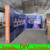 디자인 주문 보기 직물 전시 휴대용 모듈 무역 박람회 전시회