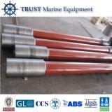 Eixo de hélice flexível da cauda longa do barco do aço inoxidável do OEM