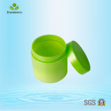 200ml Pet Green Plastic Cosmetic Jar pour correcteur