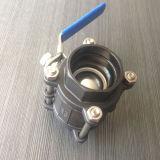 Valvola a sfera del acciaio al carbonio 3PC (Q11F)
