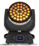 DJ 36*15W RGBWA UV 6 in 1 LED Zoom Wash Moving Head/36*15W LED Zoom Moving Head