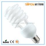 Светильник спирали 12W электрических лампочек T4 CFL половинный энергосберегающий