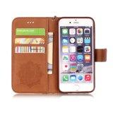 Caixa colorida cópia do telefone do iPhone 5/5s 6/6s 6plus da carteira com linha de mão