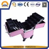 Caisse en aluminium de chariot à renivellement avec les plateaux (HB-2023)