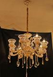 Iluminación europea de la decoración interior de Phine hecha de la lámpara pendiente de la aleación del cinc
