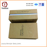 Caja de embalaje para el teléfono elegante con ventana de PVC