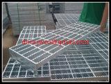Проступи лестницы Китая Hebei Anping сверхмощный Grating-Гальванизированные сталью стальные Grating