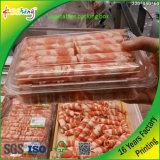 Caixa oblonga desobstruída do empacotamento plástico do animal de estimação para frutas e verdura