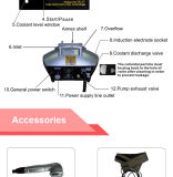 Gros équipement portatif de beauté de Freezed (ETG17)