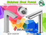 De hand-Vrije Tapkraan van de Badkamers van de Sensor van de Vezel van het Roestvrij staal van Touchless CSA