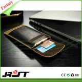 Caixa de couro universal do telefone do plutônio do saco de couro para o iPhone 6 6s