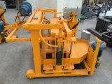 Qt40-3A mini manuelle bewegliche Block-Maschinen-Ei-Schicht