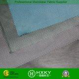 Tissu gravé en relief de taffetas de polyester de configuration pointillée de gradient