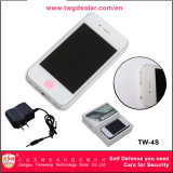 Type de téléphone portable Femmes Self Defense Stun Guns with Electric Torch (TW-4S)