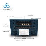 Sankou 2016 nosotros interruptor elegante estándar con la lámpara de detección del tacto de la CA 110V250V del panel del vidrio cristalino cambia el interruptor ligero de la pared