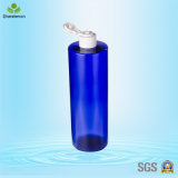 Голубая пластичная бутылка лосьона 500ml для запитка ванны