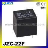 PWB Miniature Relay Jzc-22f Power Relay mit 15A Contact Rating