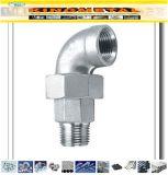 Cotovelo da união M/F do aço inoxidável de ASTM 304