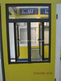 Het Venster van de Scharnier van het aluminium (buiten of binnen openingsmanieren)