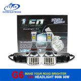C.C automatique des ampoules 6000k 8-32V de phare du véhicule DEL de la lampe 30W 3200lm 9006 de véhicule d'intense luminosité d'éclairage