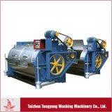 industrielle Waschmaschine 100kg zu den Wäscherei-Zwecken an der waschenden Pflanze