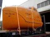 Bateau de sauvetage libre d'automne de norme de SOLAS avec le davier (version de camion-citerne et de cargaison)