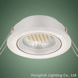 Techo ahuecado ajustable Downlight del aluminio GU10