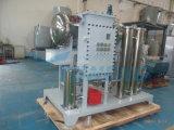 Strumentazione di purificazione di disidratazione dell'olio della turbina