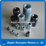 Noix de couplage Hex d'acier inoxydable DIN 6334 longue