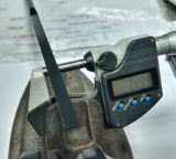 Haute précision DIN1530f-B noirci Was1.2344 &#160 ; Éjecteur Pin&#160 de lame ; des pièces de moulage pour l'injection en plastique