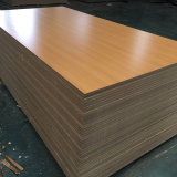 ISO9001: 2008 100% MDF da melamina do Poplar 1220*2440mm