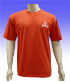 Custom Soft Short Sleeves O-Neck 100% algodão T-Shirt