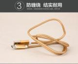 El surtidor de China del nilón aisló el cable del USB del relámpago de 8 Pin para Samsung