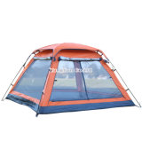 Im Freien automatische Großhandelszelte, doppelte Tür-kampierende Zelte, Sun-Strand-Zelte