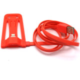Qualitäts-Handy-Standplatz-Halter Mikro-USB-Daten-Kabel