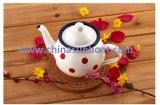 خزف [تبوت] مصغّرة قهوة إناء مينا غلاية لبن إناء