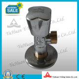 Válvula de ángulo forjado de latón cromado (YD-D5026)
