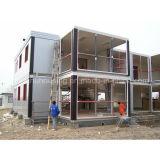 Diseño modular de la casa del envase de la familia moderna del bajo costo
